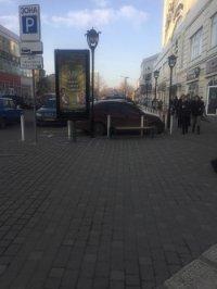 Ситилайт №226848 в городе Одесса (Одесская область), размещение наружной рекламы, IDMedia-аренда по самым низким ценам!