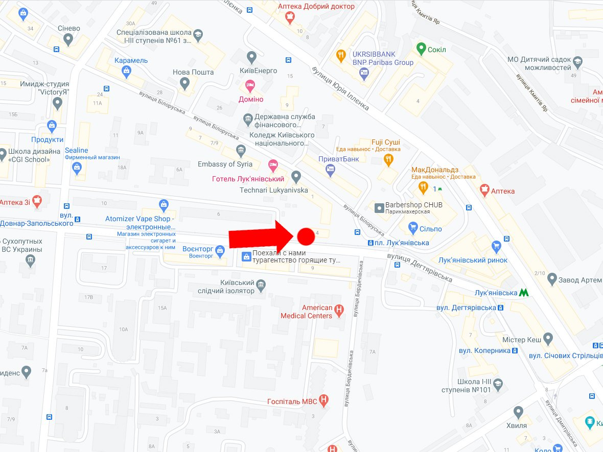 IDMedia Наружная реклама в городе Киев (Киевская область), Крышу в городе Киев №226963 схема