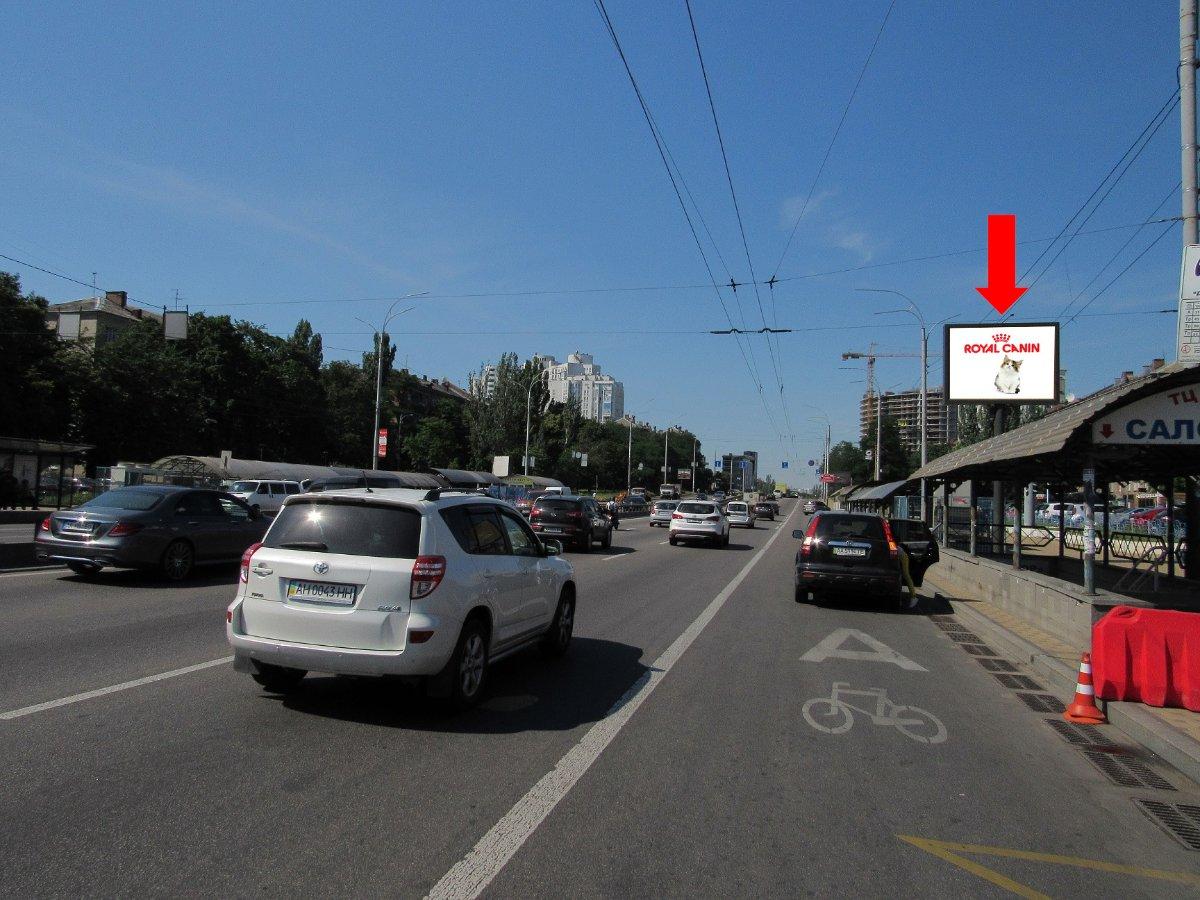Экран №227965 в городе Киев (Киевская область), размещение наружной рекламы, IDMedia-аренда по самым низким ценам!