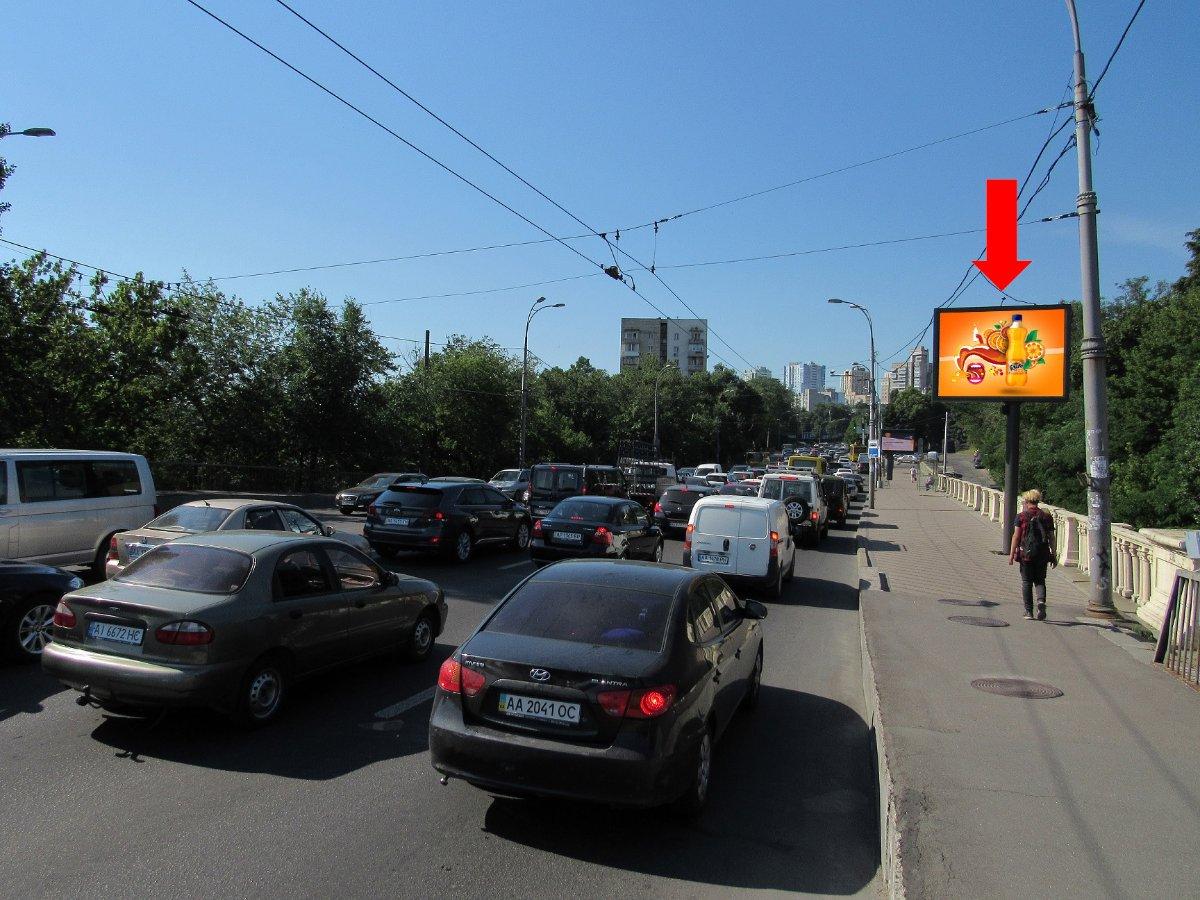 Экран №228005 в городе Киев (Киевская область), размещение наружной рекламы, IDMedia-аренда по самым низким ценам!
