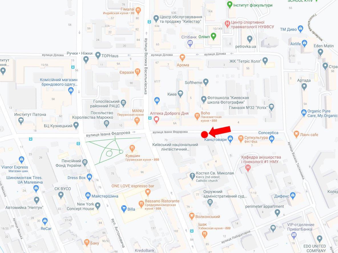 IDMedia Наружная реклама в городе Киев (Киевская область), Бэклайт в городе Киев №228302 схема