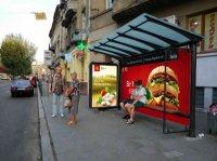 Остановка №228368 в городе Львов (Львовская область), размещение наружной рекламы, IDMedia-аренда по самым низким ценам!