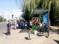 Остановка №228396 в городе Львов (Львовская область), размещение наружной рекламы, IDMedia-аренда по самым низким ценам!