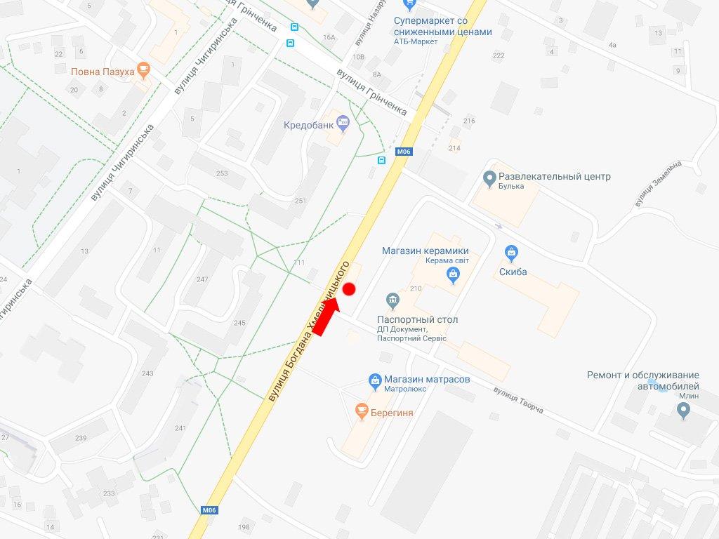 IDMedia Наружная реклама в городе Львов (Львовская область), Остановку в городе Львов №228396 схема