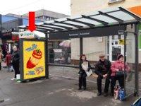 Ситилайт №228520 в городе Житомир (Житомирская область), размещение наружной рекламы, IDMedia-аренда по самым низким ценам!