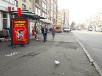 Ситилайт №228525 в городе Житомир (Житомирская область), размещение наружной рекламы, IDMedia-аренда по самым низким ценам!