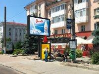 Ситилайт №228526 в городе Житомир (Житомирская область), размещение наружной рекламы, IDMedia-аренда по самым низким ценам!