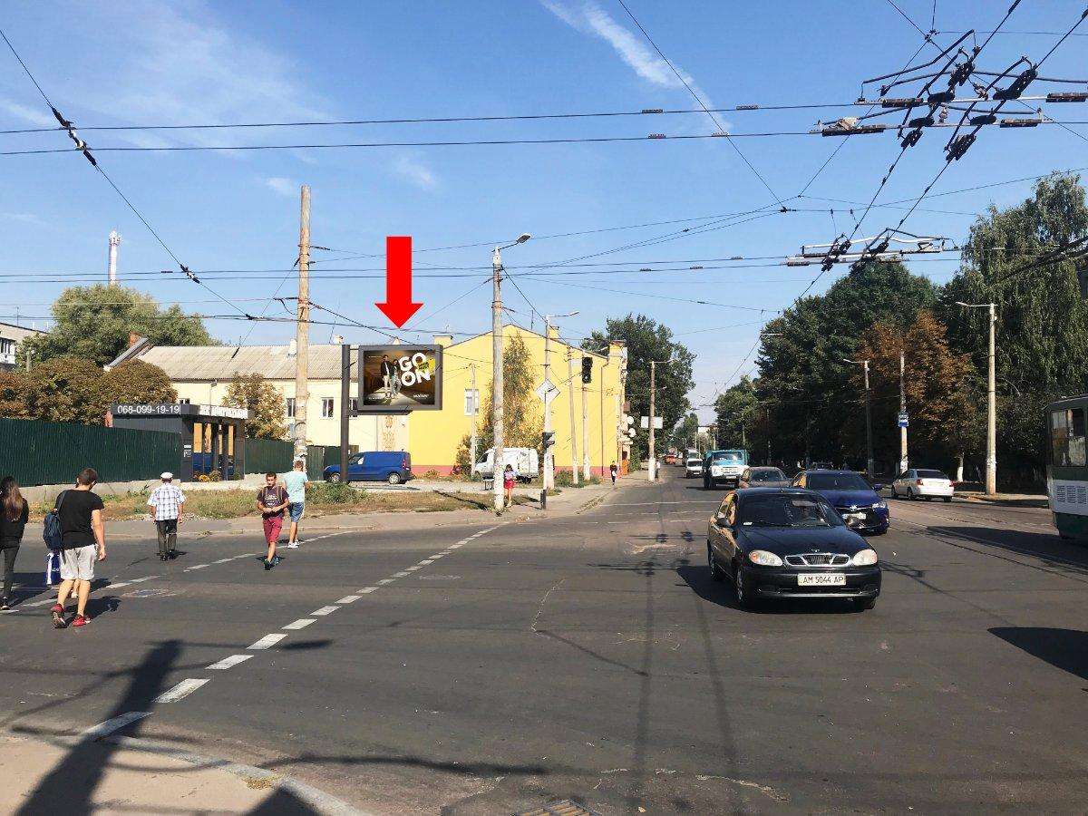 Бэклайт №228530 в городе Житомир (Житомирская область), размещение наружной рекламы, IDMedia-аренда по самым низким ценам!