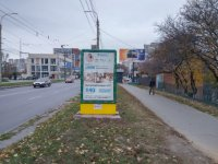 Ситилайт №229384 в городе Хмельницкий (Хмельницкая область), размещение наружной рекламы, IDMedia-аренда по самым низким ценам!