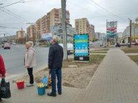 Ситилайт №229400 в городе Хмельницкий (Хмельницкая область), размещение наружной рекламы, IDMedia-аренда по самым низким ценам!