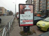 Ситилайт №229416 в городе Хмельницкий (Хмельницкая область), размещение наружной рекламы, IDMedia-аренда по самым низким ценам!