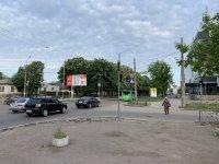 Ситилайт №229519 в городе Черкассы (Черкасская область), размещение наружной рекламы, IDMedia-аренда по самым низким ценам!