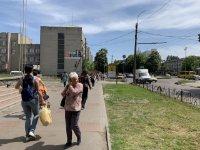 Ситилайт №229520 в городе Черкассы (Черкасская область), размещение наружной рекламы, IDMedia-аренда по самым низким ценам!