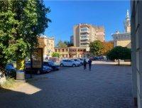 Ситилайт №229527 в городе Черкассы (Черкасская область), размещение наружной рекламы, IDMedia-аренда по самым низким ценам!