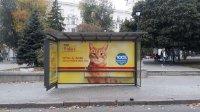 Остановка №230599 в городе Харьков (Харьковская область), размещение наружной рекламы, IDMedia-аренда по самым низким ценам!