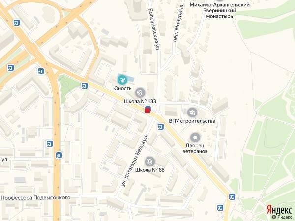 IDMedia Наружная реклама в городе Киев (Киевская область), Остановку в городе Киев №230635 схема