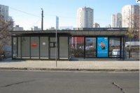 Остановка №230661 в городе Киев (Киевская область), размещение наружной рекламы, IDMedia-аренда по самым низким ценам!