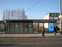 Остановка №230665 в городе Киев (Киевская область), размещение наружной рекламы, IDMedia-аренда по самым низким ценам!