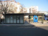 Остановка №230666 в городе Киев (Киевская область), размещение наружной рекламы, IDMedia-аренда по самым низким ценам!