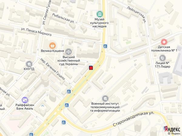 IDMedia Наружная реклама в городе Киев (Киевская область), Остановку в городе Киев №230671 схема