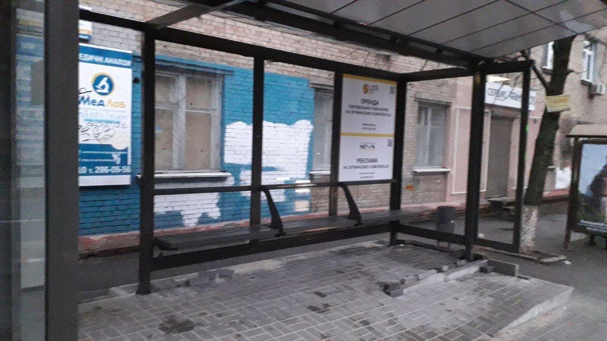 Остановка №230672 в городе Киев (Киевская область), размещение наружной рекламы, IDMedia-аренда по самым низким ценам!