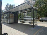 Остановка №231376 в городе Киев (Киевская область), размещение наружной рекламы, IDMedia-аренда по самым низким ценам!