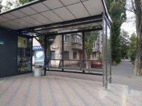 Остановка №231393 в городе Киев (Киевская область), размещение наружной рекламы, IDMedia-аренда по самым низким ценам!