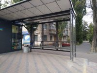 Остановка №231394 в городе Киев (Киевская область), размещение наружной рекламы, IDMedia-аренда по самым низким ценам!
