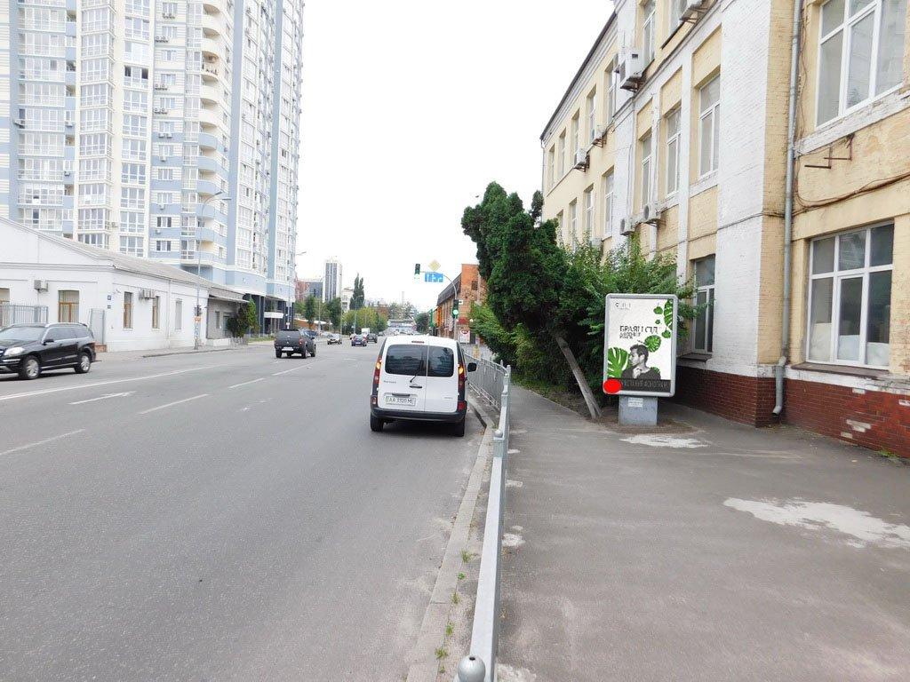 Ситилайт №231422 в городе Киев (Киевская область), размещение наружной рекламы, IDMedia-аренда по самым низким ценам!
