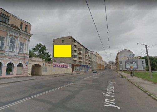 Брандмауэр №231620 в городе Харьков (Харьковская область), размещение наружной рекламы, IDMedia-аренда по самым низким ценам!
