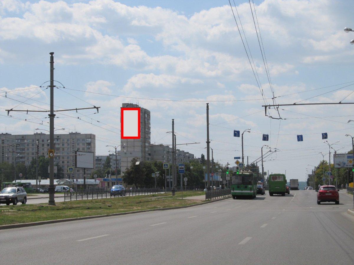 Брандмауэр №231622 в городе Харьков (Харьковская область), размещение наружной рекламы, IDMedia-аренда по самым низким ценам!