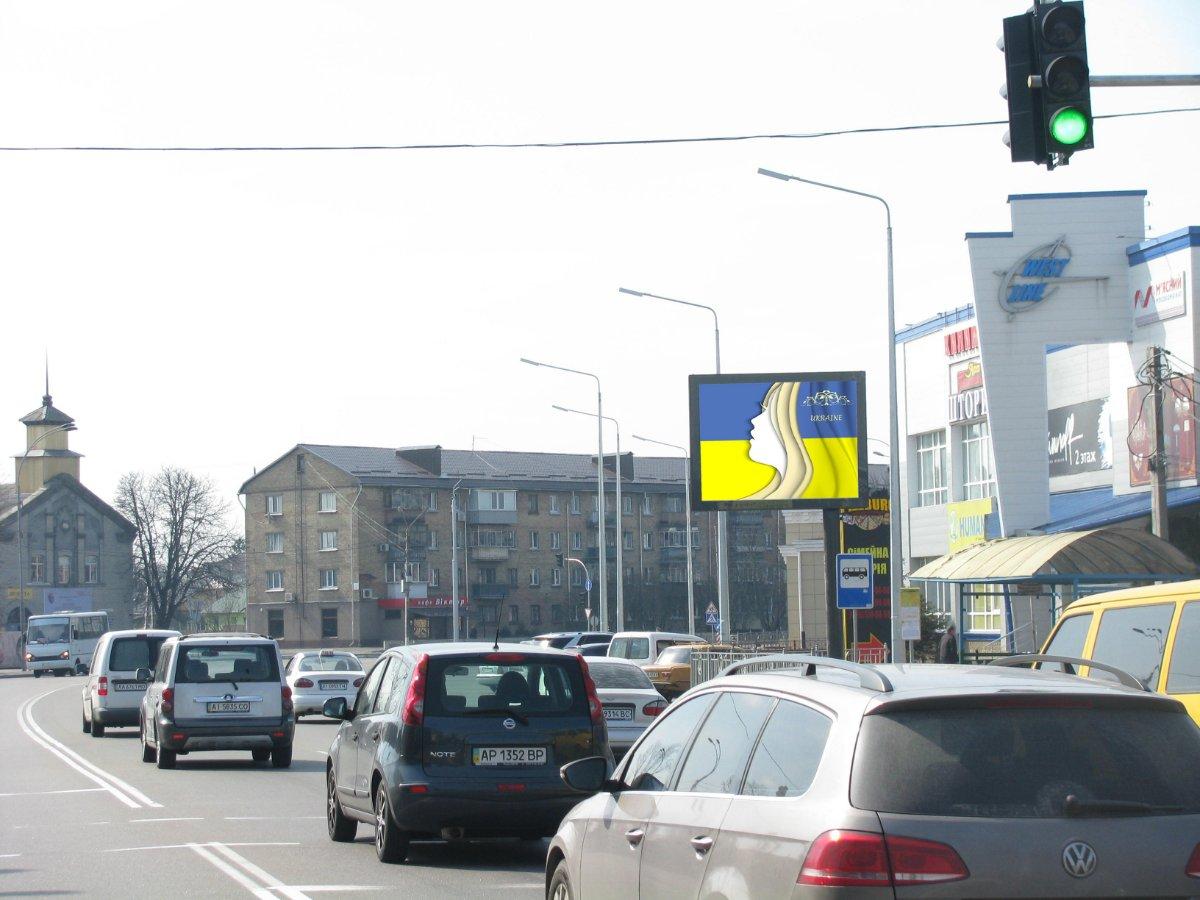 Скролл №231637 в городе Бровары (Киевская область), размещение наружной рекламы, IDMedia-аренда по самым низким ценам!