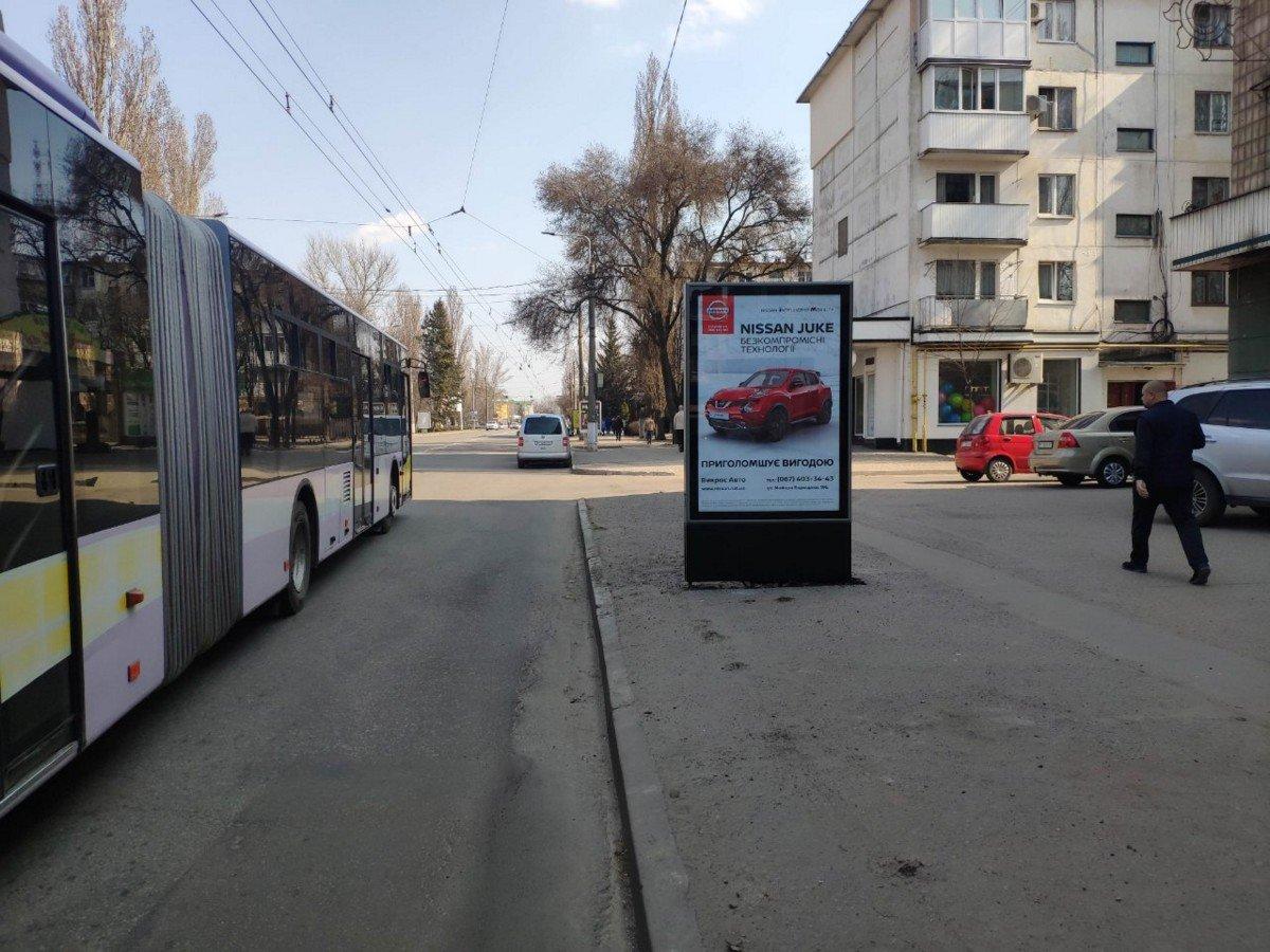 Ситилайт №231688 в городе Кременчуг (Полтавская область), размещение наружной рекламы, IDMedia-аренда по самым низким ценам!