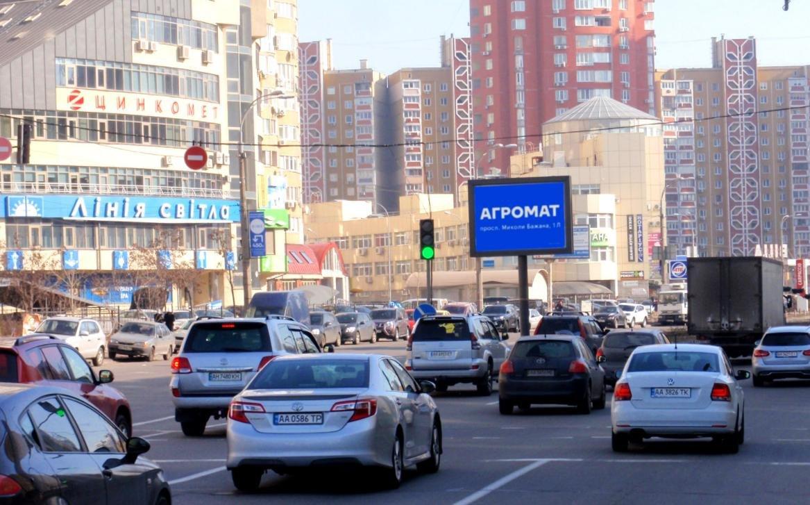 Экран №232196 в городе Киев (Киевская область), размещение наружной рекламы, IDMedia-аренда по самым низким ценам!