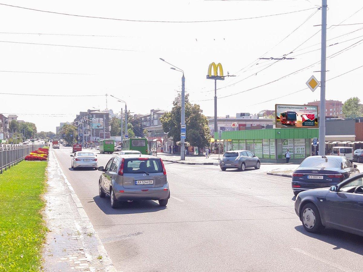 Экран №232308 в городе Харьков (Харьковская область), размещение наружной рекламы, IDMedia-аренда по самым низким ценам!