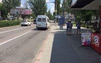 Ситилайт №232339 в городе Николаев (Николаевская область), размещение наружной рекламы, IDMedia-аренда по самым низким ценам!