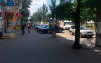 Ситилайт №232344 в городе Николаев (Николаевская область), размещение наружной рекламы, IDMedia-аренда по самым низким ценам!