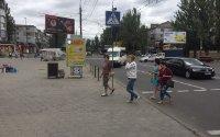 Ситилайт №232458 в городе Николаев (Николаевская область), размещение наружной рекламы, IDMedia-аренда по самым низким ценам!