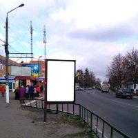 Ситилайт №233400 в городе Мерефа (Харьковская область), размещение наружной рекламы, IDMedia-аренда по самым низким ценам!