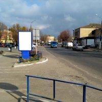 Ситилайт №233402 в городе Мерефа (Харьковская область), размещение наружной рекламы, IDMedia-аренда по самым низким ценам!
