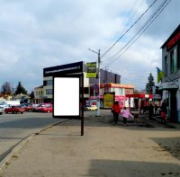 Ситилайт №233404 в городе Мерефа (Харьковская область), размещение наружной рекламы, IDMedia-аренда по самым низким ценам!