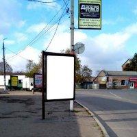 Ситилайт №233407 в городе Мерефа (Харьковская область), размещение наружной рекламы, IDMedia-аренда по самым низким ценам!