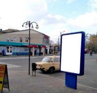 Ситилайт №233409 в городе Мерефа (Харьковская область), размещение наружной рекламы, IDMedia-аренда по самым низким ценам!