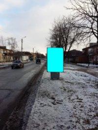 Ситилайт №233570 в городе Золочев (Харьковская область), размещение наружной рекламы, IDMedia-аренда по самым низким ценам!
