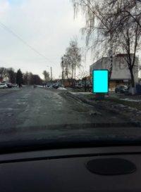 Ситилайт №233574 в городе Золочев (Харьковская область), размещение наружной рекламы, IDMedia-аренда по самым низким ценам!