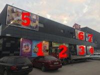 Билборд №234714 в городе Бровары (Киевская область), размещение наружной рекламы, IDMedia-аренда по самым низким ценам!