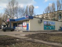 Билборд №234949 в городе Покровск(Красноармейск) (Донецкая область), размещение наружной рекламы, IDMedia-аренда по самым низким ценам!