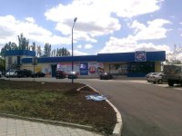 Билборд №235033 в городе Бахмут(Артемовск) (Донецкая область), размещение наружной рекламы, IDMedia-аренда по самым низким ценам!