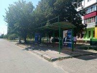 Ситилайт №235115 в городе Херсон (Херсонская область), размещение наружной рекламы, IDMedia-аренда по самым низким ценам!