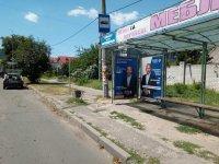 Ситилайт №235121 в городе Херсон (Херсонская область), размещение наружной рекламы, IDMedia-аренда по самым низким ценам!